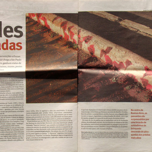 Cidades Sitiadas - Maria Angélica Melendi (Sinapse - Folha de S.Paulo)