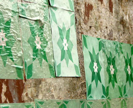 Azulejos de papel - Bairro Floresta