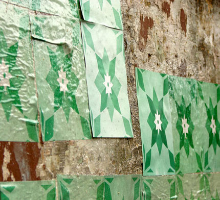 Azulejos de papel - Bairro Floresta, BH