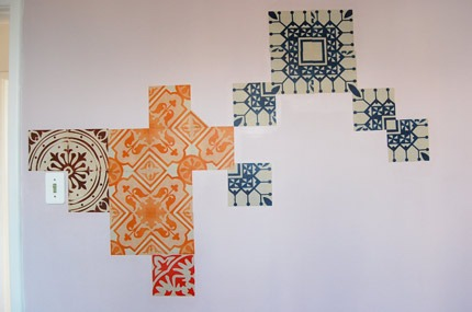 Azulejos de Papel - Serra