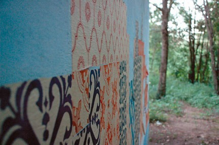 Azulejos de papel - Grupo Poro em Pluja/Argentina