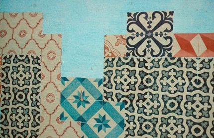 Azulejos de papel - Grupo Poro em Unquillo/ Argentina