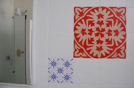 Azulejos de Papel do Grupo Poro em Belo Horizonte