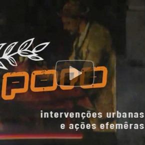 """Documentário """"Poro - intervenções urbanas e ações efêmeras"""""""