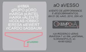 Ao Avesso - Performances em Florianópolis