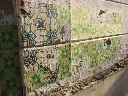 Azulejos de papel - Floresta, Belo Horizonte