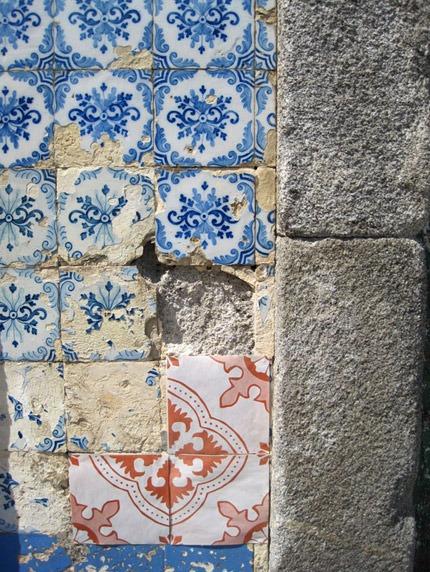 Azulejos de Papel em Viana do Castelo, Portugal