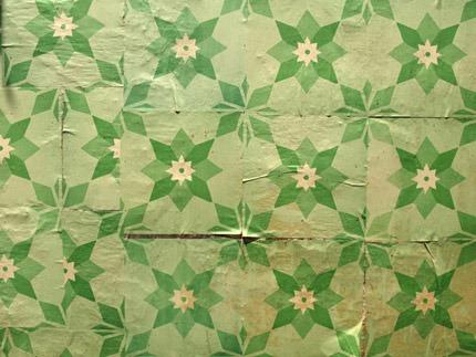 Azulejos de papel - Coletivo Poro