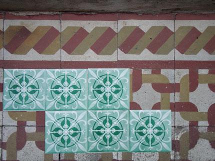 Azulejos de Papel do Grupo Poro em Caballito, Buenos Aires