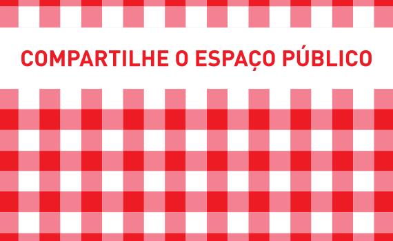 Compartilhe o espaço público (Poro)