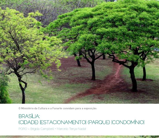 Exposição do Poro na Funarte de Brasília