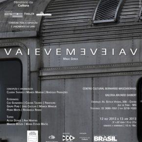 Vaievem: livro e exposição de fotos sobre as ferrovias de Minas