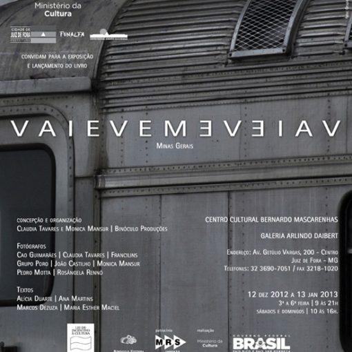 VAIEVEM - Livro de Ensaios Fotográficos sobre as Ferrovias de Minas Gerais