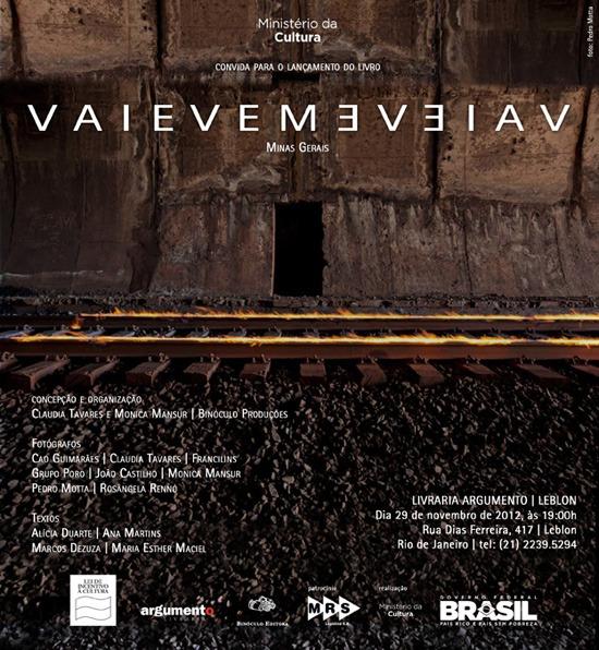 vaievem - Pré-lançamento do livro no Rio
