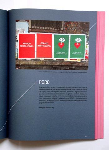 Página sobre o Poro no livro Esses Espaços