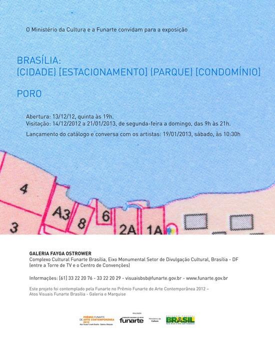 Poro na Funarte de Brasília