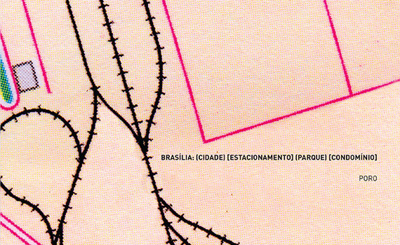 Brasilia: cidade estacionamento parque condominio - Poro