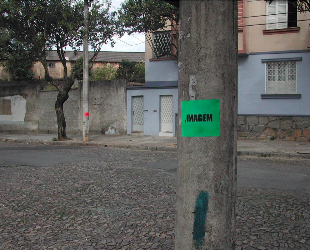 Imagem Cor, intervenção no espaço público (Poro)