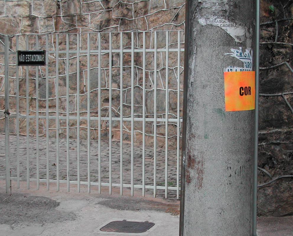 Imagem Cor, intervenção em Belo Horizonte (Poro)