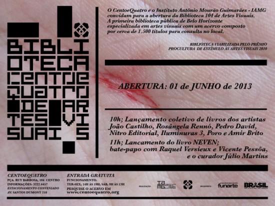Biblioteca Espaço 104 - Belo Horizonte