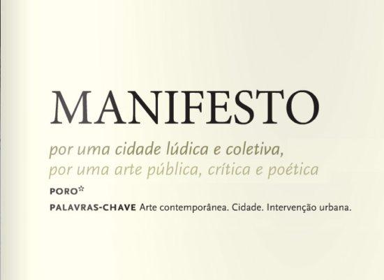 Manifesto Poro na Revista da UFMG