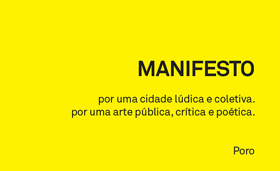 Manifesto - Poro