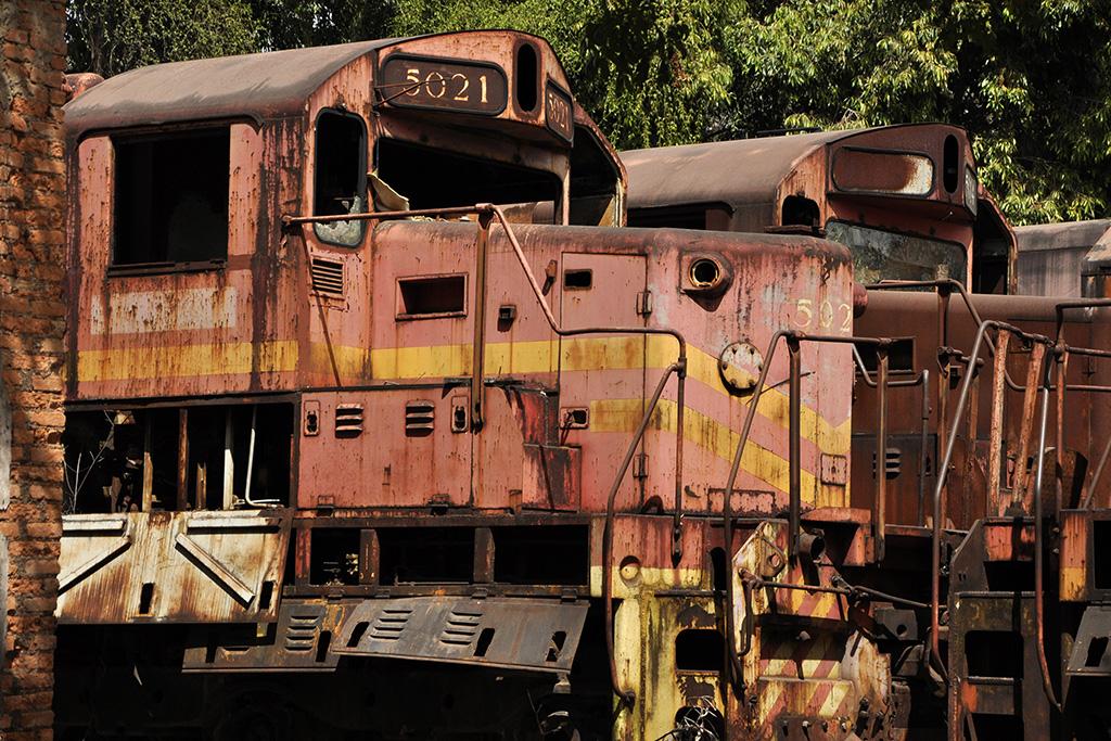 Trens antigos das ferrovias de Minas Gerais