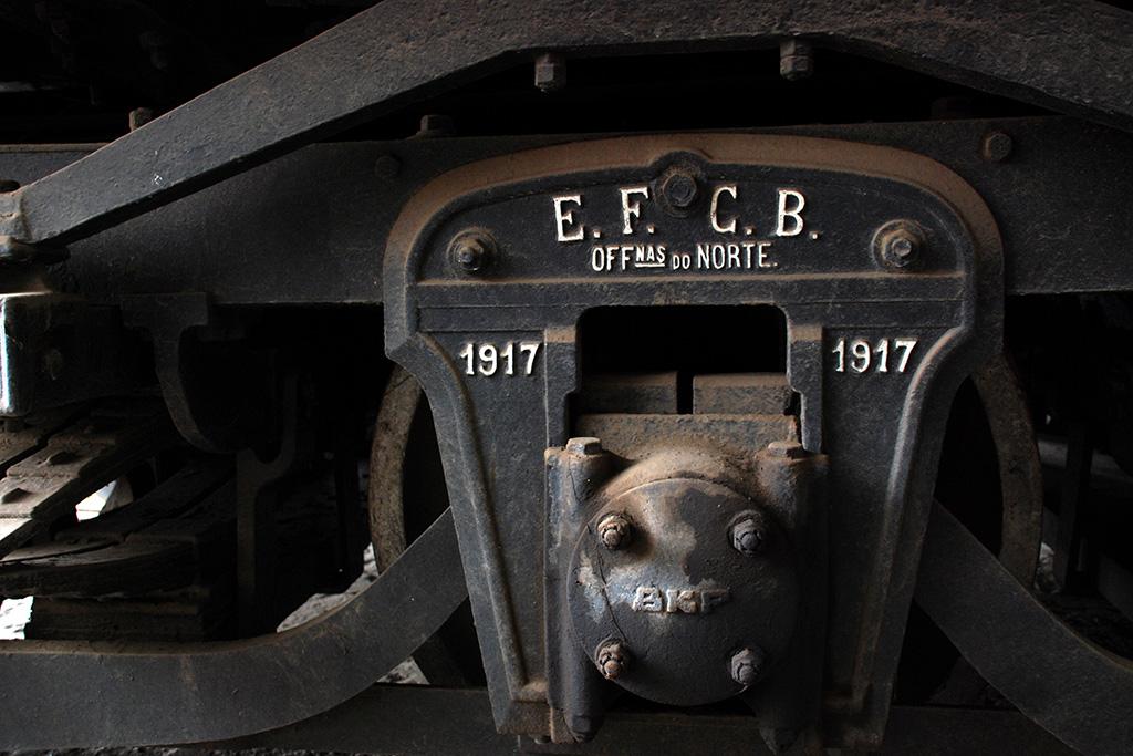 Detalhe de antigo trem em Minas Gerais (Grupo Poro)