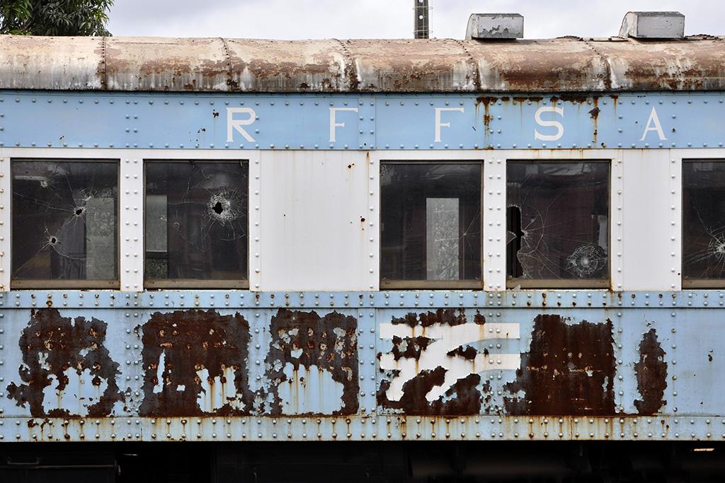 Vagão de trem antigo RFFSA Minas Gerais
