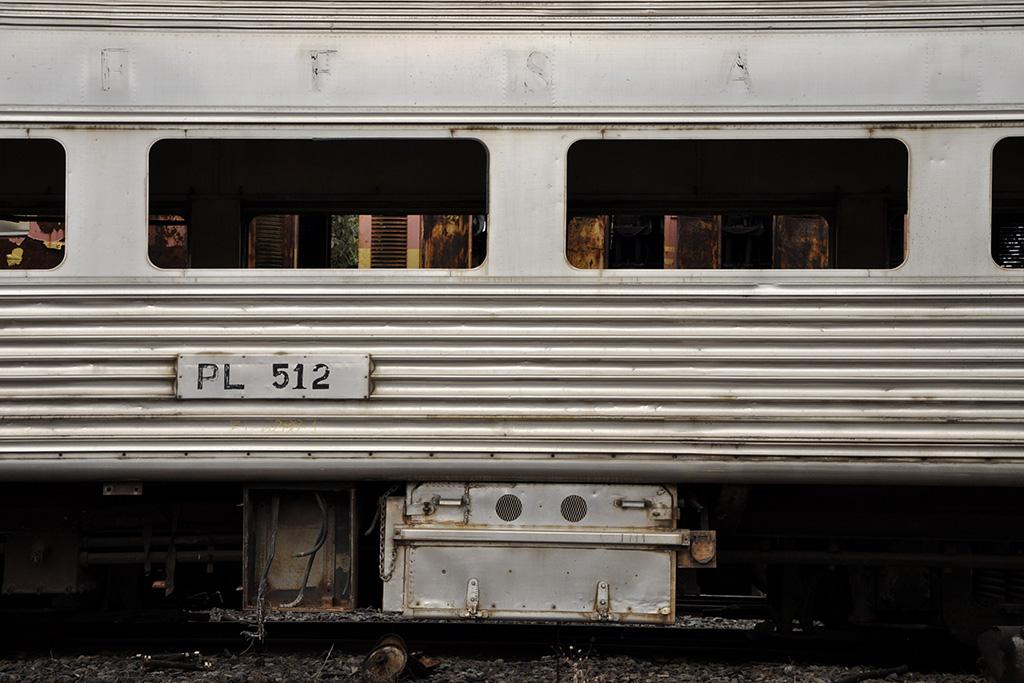 Vagão de trem de passageiros em Minas Gerais (Poro)