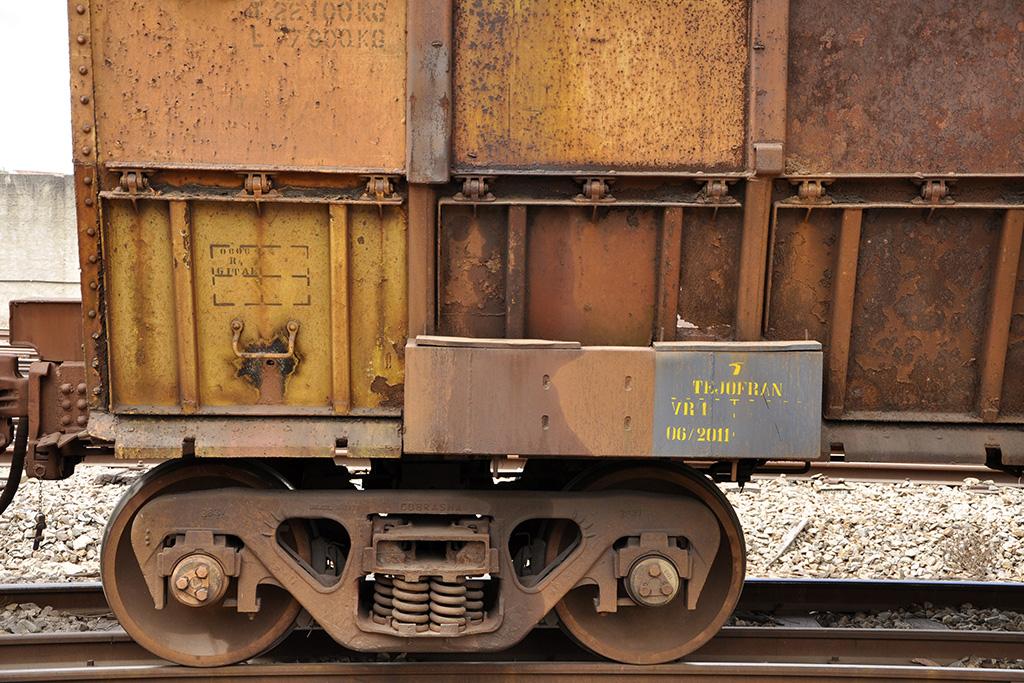 Vagão de trem de transporte Minas Gerais, Brasil (Poro)