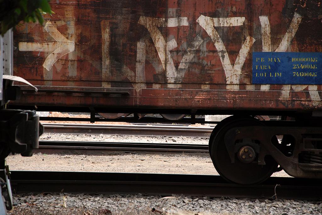Detalhe de antigo vagão de trem (Poro)